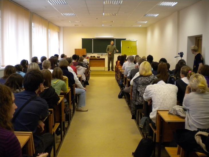 Лекция по игре Го в Самарском Государственном Университете